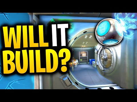 What Happens When You Throw A PORT-A-FORT Into A VAULT? | Fortnite Mythbusters