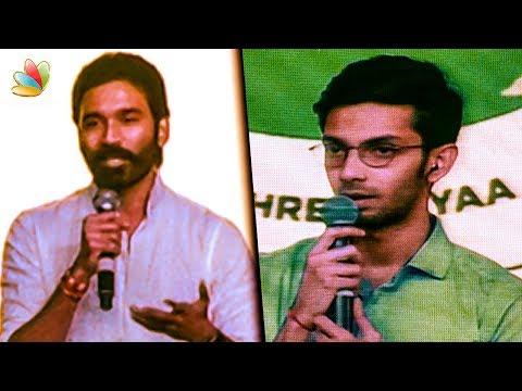 Dhanush and Anirudh Speech | Peace for Children
