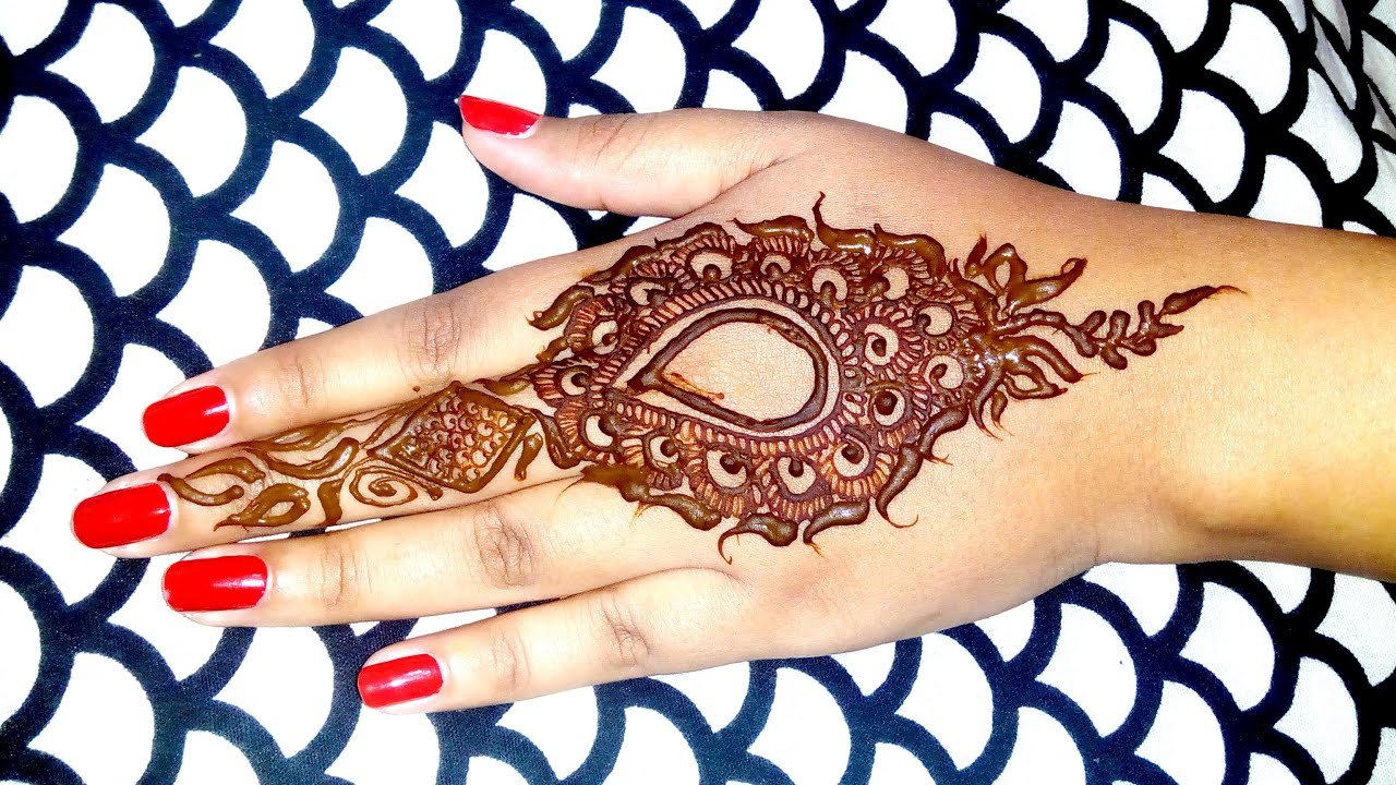 Latest mehndi designs 2016 2017 top 47 mehndi styles - Latest Mehndi Designs 2016 2017 Top 47 Mehndi Styles 20