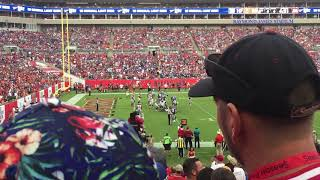 Giants vs Buccaneers 2017, Giants Touchdown, Raymond James Stadium, Tampa
