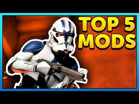 Top 5 Mods of the Week - Star Wars Battlefront 2 Mod Showcase #34