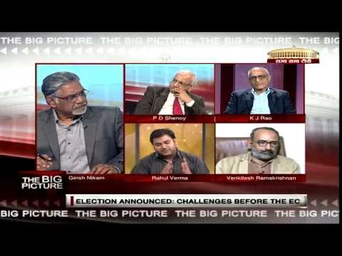The Big Picture - Lok Sabha Elections announced: Challenges before the EC