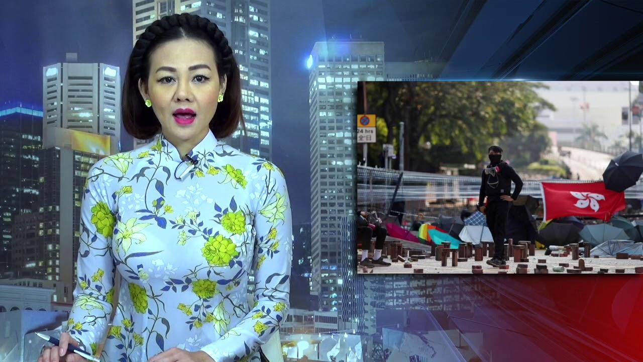 Biểu tình Hồng Kông: Giới tranh đấu chuyển sang chiến thuật ''du kích''