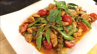 Chicken Red Curry Stir-fry - Hot Thai Kitchen!