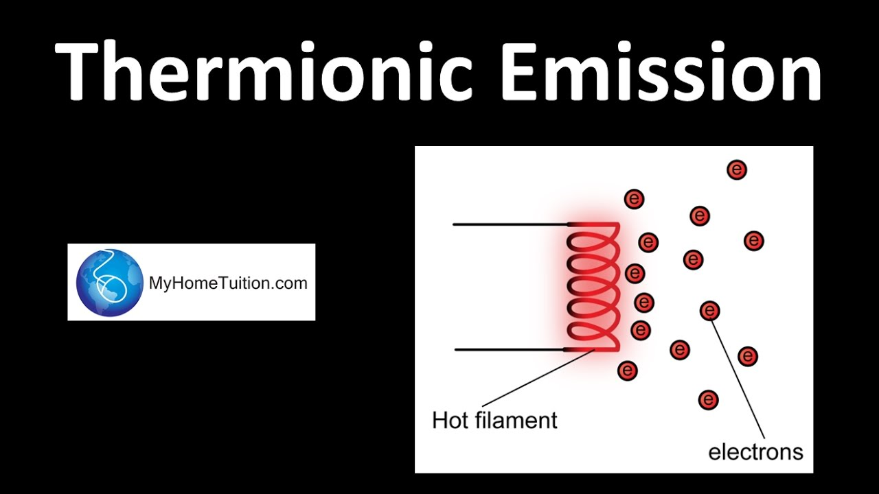 Thermionic Emission | Electronics  YouTube