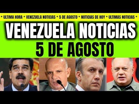 VENEZUELA NOTICIAS | SE COMPLICA PARA MADURO ULTIMAS NOTICIAS DE VENEZUELA HOY 5 AGOSTO