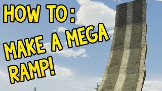 How To: Make A Mega Ramp! (gta 5 Online Guide)