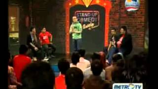 Stand Up Comedy Battle Of Comic Metro TV 08 Januari 2013 - part 1