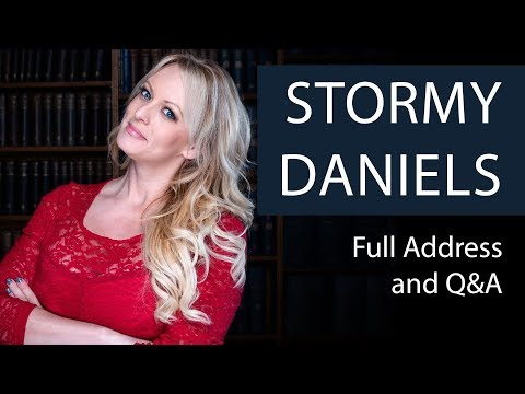 Stormy Daniels | Sex, Guns and Other Fluff | Oxford Union