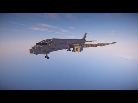 Boeing 747 minecraft project.