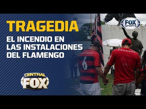 10 jóvenes futbolistas de Flamengo murieron en un incendio