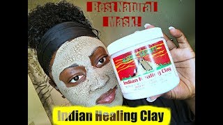 AZTEC INDIAN HEALING CLAY MASK FOR A CLEAR, BRIGHT COMPLEXION | FIGHTING ACNE