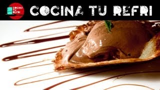 Helado de Chocolate - Cocina tu Refri 50 - Chocolate Ice cream