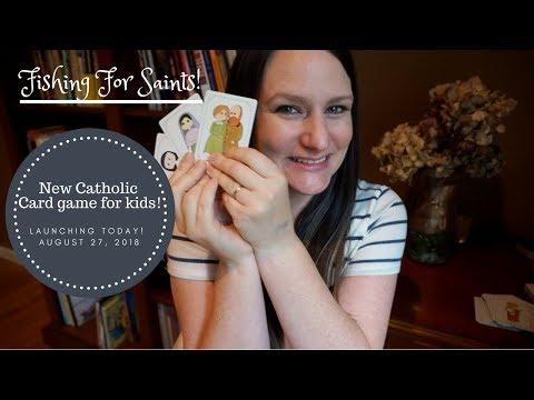 ❋ NEW CATHOLIC KIDS GAME ❋ - Fishing For Saints!