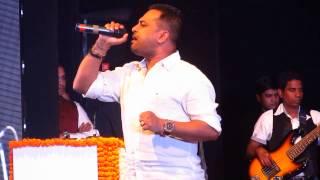 Krishna Beura singing Teri Yaad Saath Hai LIVE