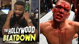 Tyron Woodley vs Nate Diaz Back On? | The Hollywood Beatdown