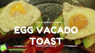 HOW TO MAKE TESTY AND YAMMY EGG AVACADO TOAST