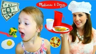 Play Restaurant Melissa & Doug Order Up Diner Pretend Play Food Set Cooking Kitchen By Disneycartoys