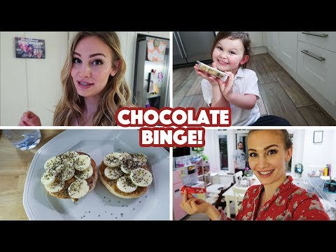 Chocolate Binge! | What I Ate Wednesday