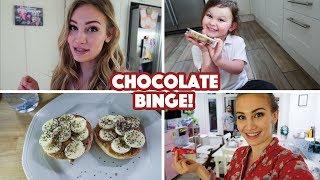 Chocolate Binge!   What I Ate Wednesday