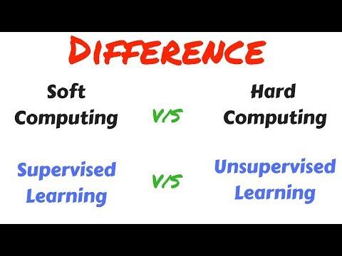 Soft computing vs Hard computing and Supervised learning vs Unsupervised Learning in hindi | Sc #2
