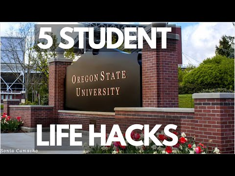 5 STUDENT LIFE HACKS | OREGON STATE UNIVERSITY | COLLEGE TIPS
