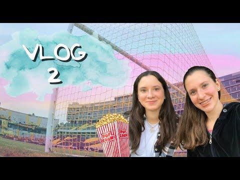 VLOG 2 // Fútbol + Cine + ...