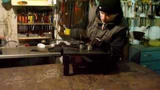 Саморобний станок для холодної ковки, дуги, круги, гнуття.(Гнеться без проблем квадрат 10 мм, більший та профільну трубу не пробував, не було потреби. Є можливість доро..., 2014-01-26T09:16:02.000Z)
