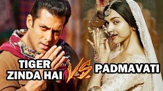 Salman's Tiger Zinda Hai V/s Deepika's Padmavati On Christmas 2017
