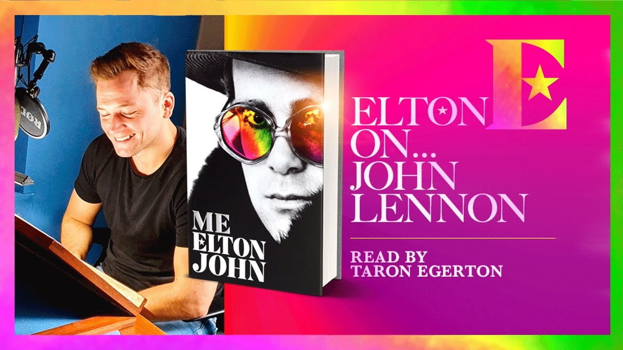 Elton John on John Lennon — 'Me' Book Extract