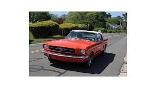 1965 Ford Mustang Convertible (photo slideshow)