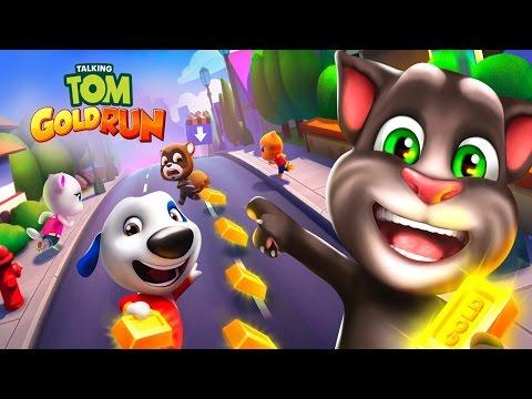 Говорящий Кот Том ЗА ЗОЛОТОМ. Мультик игра видео для детей. Марафон. Игровой мультфильм