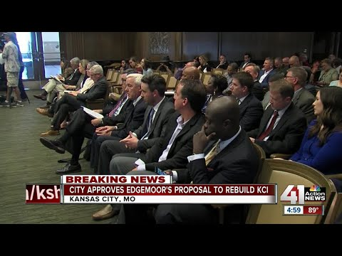 City Council votes to accept Edgemoor proposal for new KCI terminal