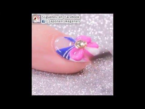 Kawaii Sailor Moon Nails