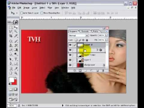 7iun Huong Dan Photoshop CS3 - Cach Tao Danh Thiep 22/39