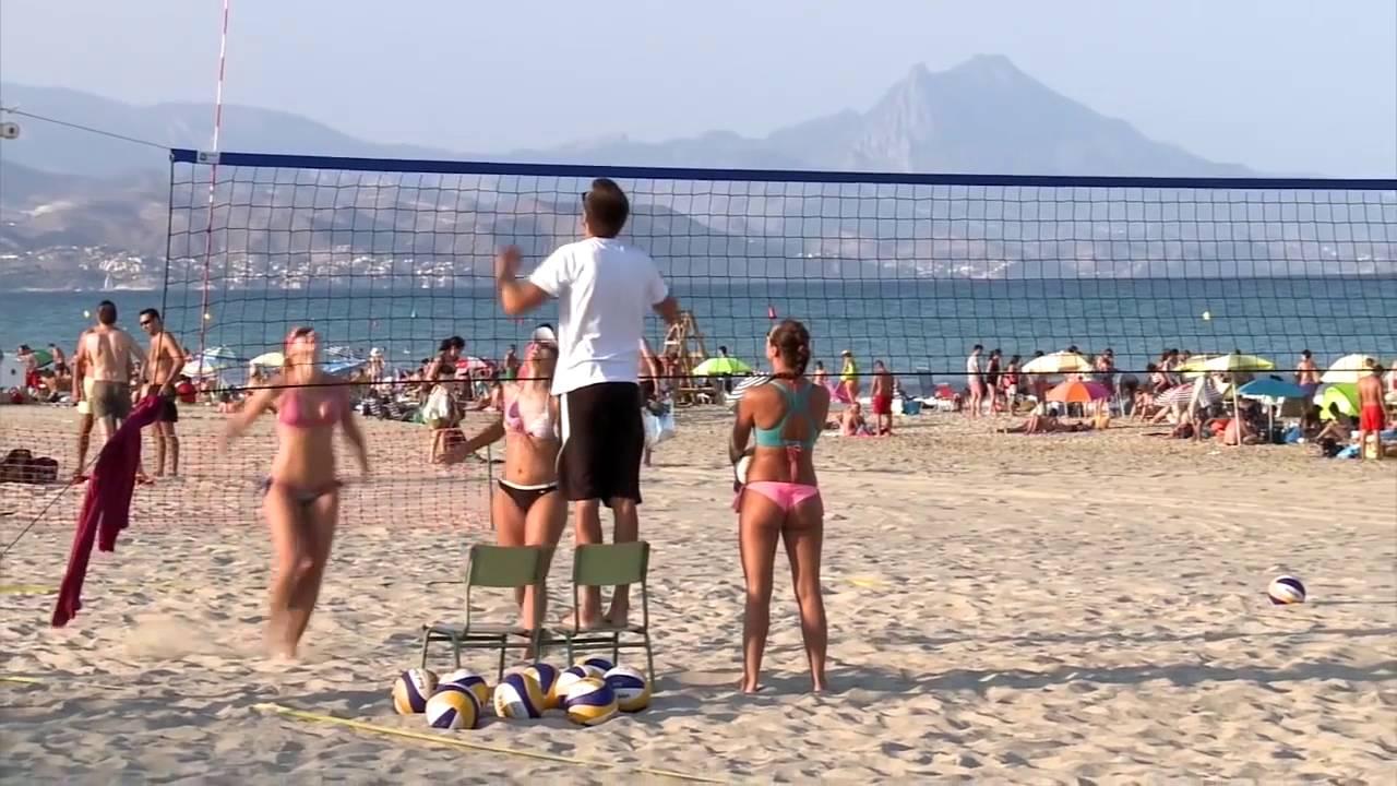 Hot Beaches Of Alicante Spain