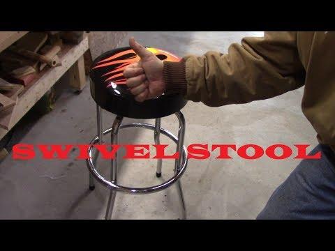 Harbor Freight Swivel Stool and Mini Tool Haul