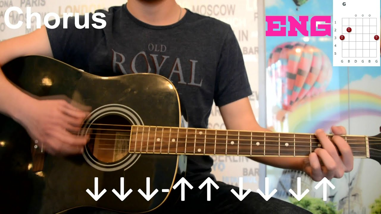 Imagine Dragons Demons Guitar Lesson How To Play Easy Tutorial