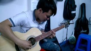 Dạy đàn guitar Quận Tân Bình  - Giây phút ngẫu hứng của học viên Dũng