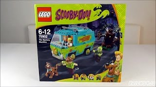 LEGO 75902 Scooby-Doo! Mystery Machine (+ Unboxing) - Review deutsch -