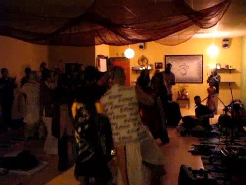 Temple Bhajan Band Kirtan at Arlington Yoga Center