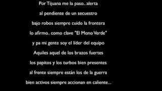 Gerardo Ortiz - El Mono Verde (Estudio 2013) *LETRA*