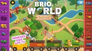 Ride Trains & Build Tracks in BRIO Railway World