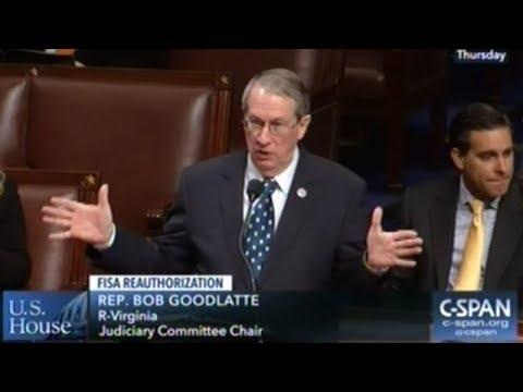 House Passes Six Year FISA Reauthorization