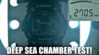 How Waterproof Casio G-Shock really is? Deep Sea Test