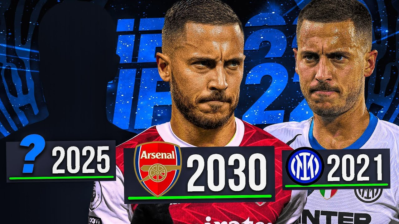 Download I REPLAYED the Career of EDEN HAZARD... 10 Seasons to GLORY! ⭐