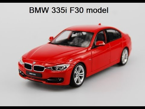 BMW 335i F30 red model by Welly