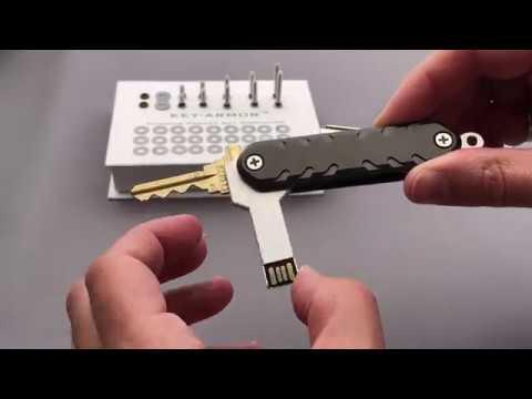Black Diamond KEY-ARMOR Pocket Key Organizer By Superior Titanium Products, Inc.
