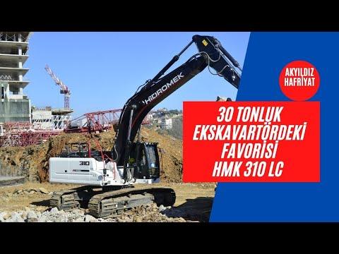 HİDROMEK'İN 30 TONLUK EKSKAVATÖRÜ: HMK 310 LC
