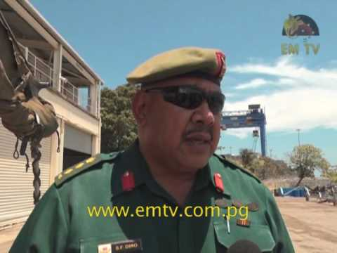 PNGDF Navy Brings Home Military Shield